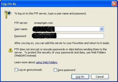 Cara Menggunakan FTP Server3